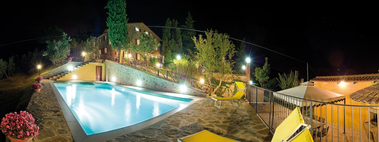 Home Holidays in Tuscany with pool