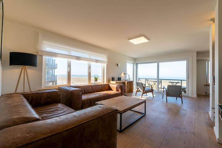 ★ Modern & Large appt (8p.) ocean view & terrace ★
