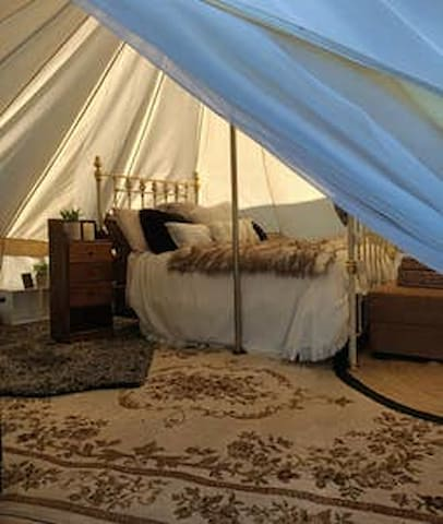 Belle the Bell Tent @ 175 Hearts Haven