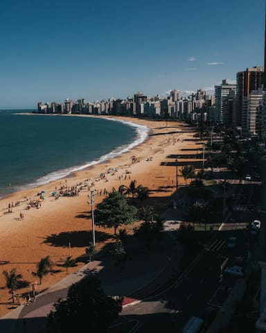 Best place with ocean view - 2 bdrm - Vila Velha - Apartemen