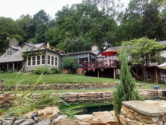 Beautiful Bluemont Retreat *3+Suite,Private,Comfy! - Bluemont - Casa