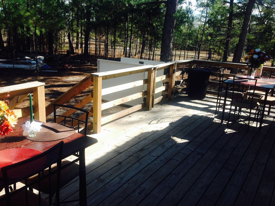 Sun Deck dining/special events