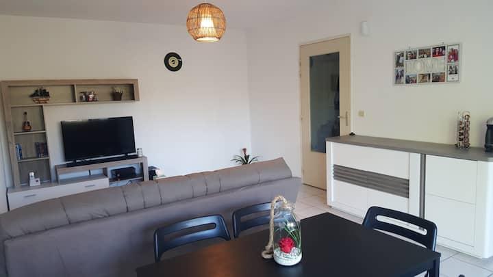 Appartement T2 chaleureux, Parking, Wifi, Terrasse