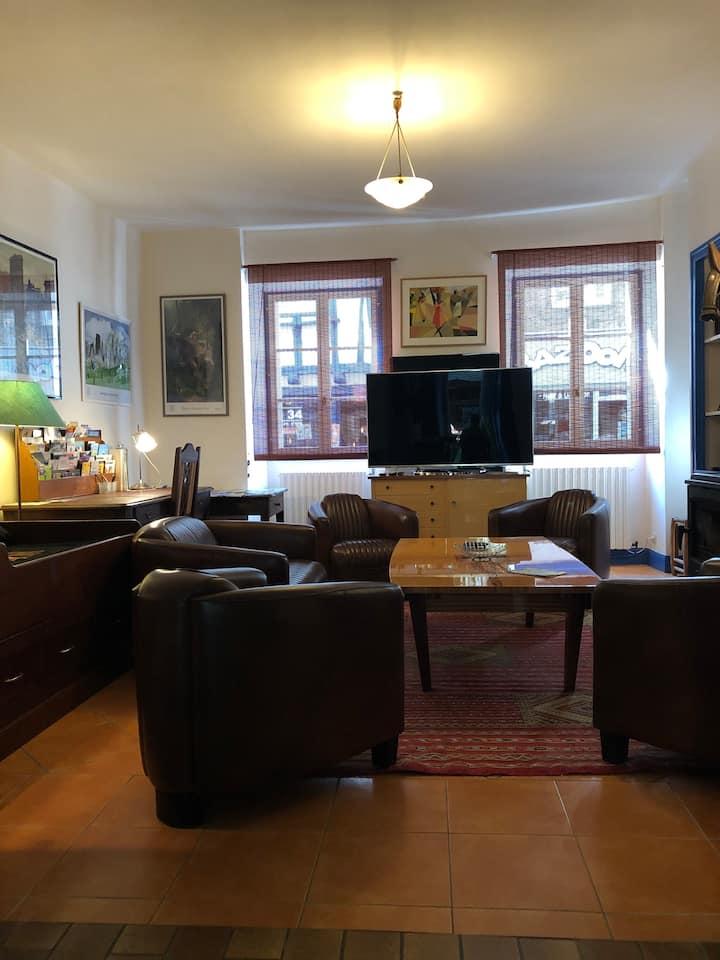 Cœur d'Auray, appartement et jardin de caractère
