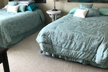 Queen and full size beds