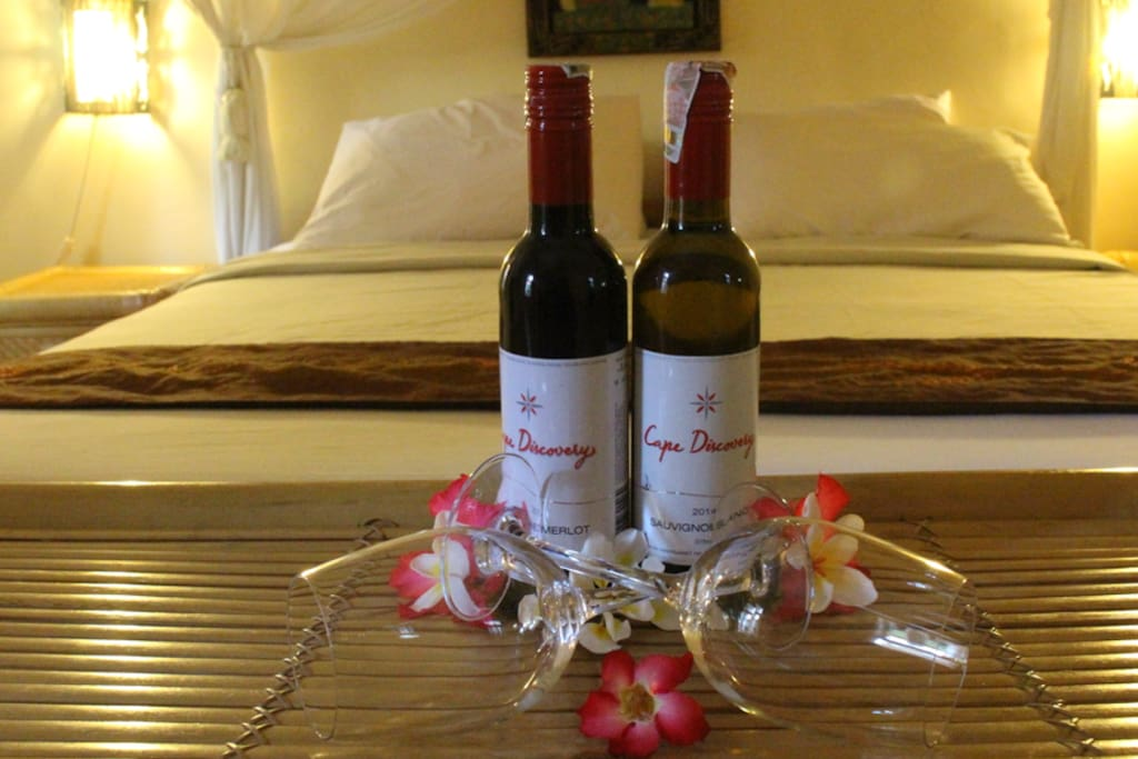 Book 2 Nights, for 2 person, and get free 2 bottle of wine...