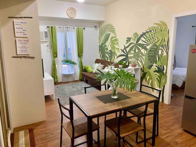 270° 2Bedroom PENTHOUSE Condo CENTRIO w Stove 6pax
