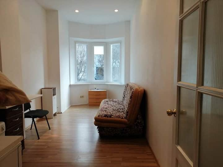 Small studio with amenities in Kaunas center