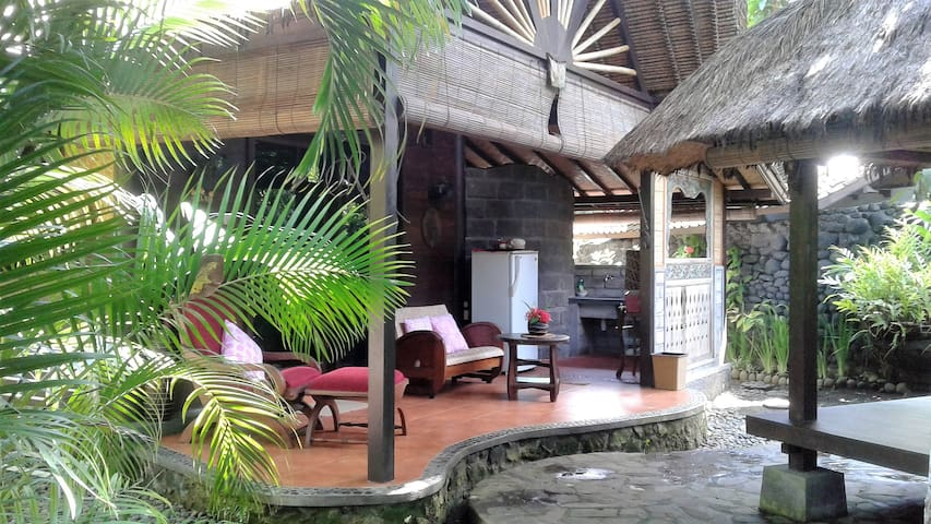 Melati Cottage front area