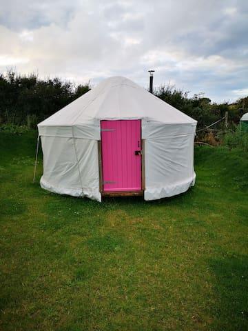 The pink one, vorvas yurts