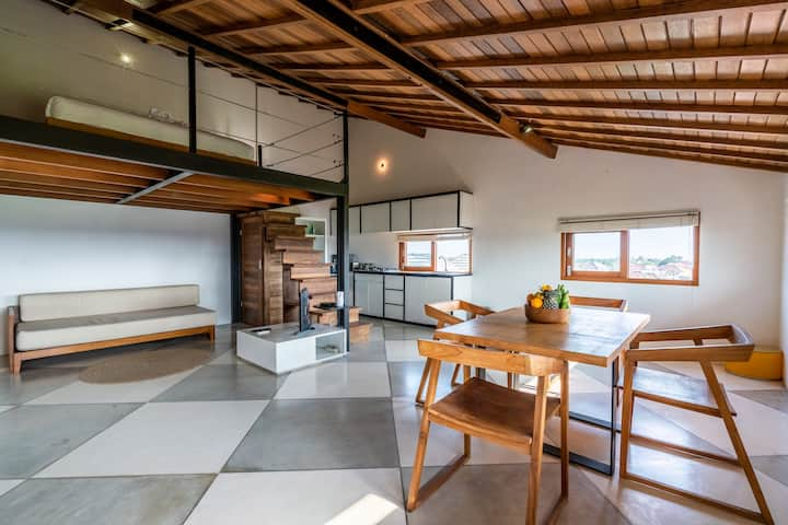 A5 Studio LOFT with stunning view- Canggu