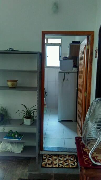 Visão da Porta Principal (acesso a cozinha)