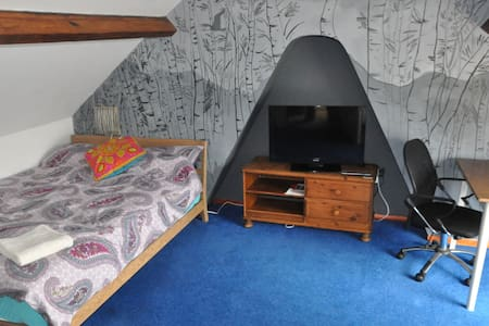 Lovely double loft with en-suite - Leeds