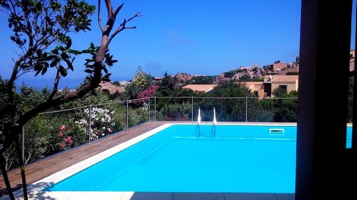 Rilassante Villetta vista mare