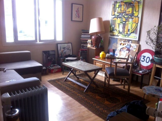 grand appartement lumineux - Tours - Apartament