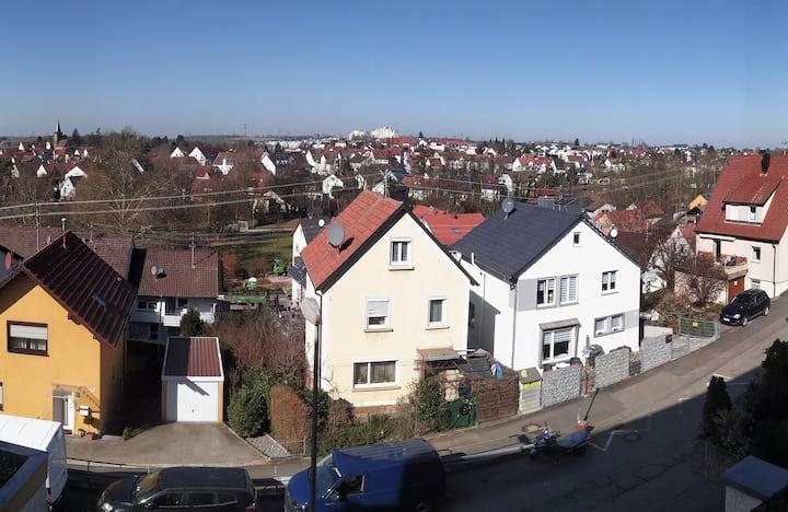 Über den Dächern von Heilbronn