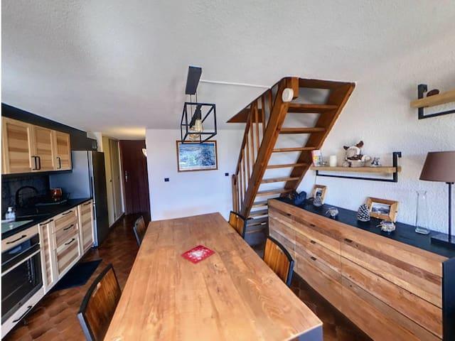 GR401 - Duplex 6 Pers centre village des Carroz