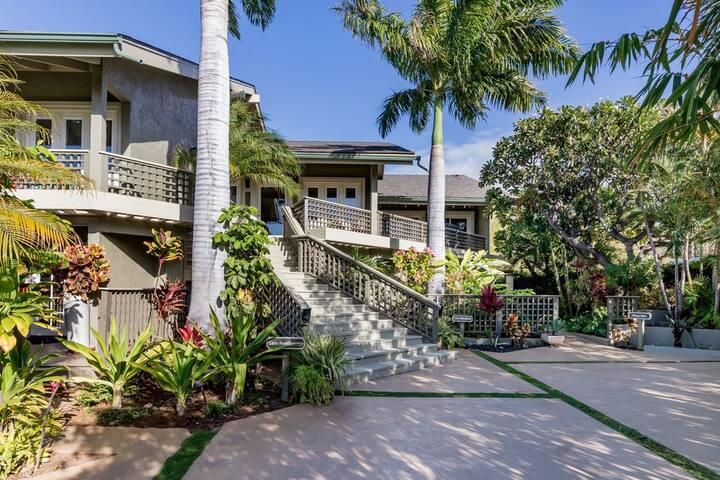 Wailea Ohana Hideaway Combo-50 steps from beaches!