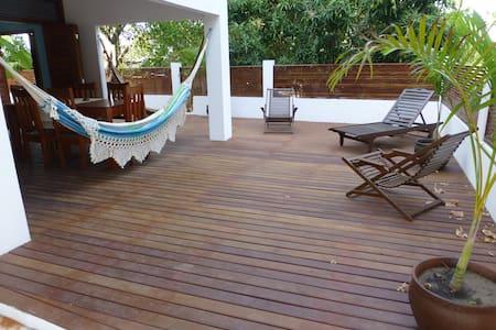 CASA CAFE BLEU 3 QUARTOS - Pipa Beach - Casa