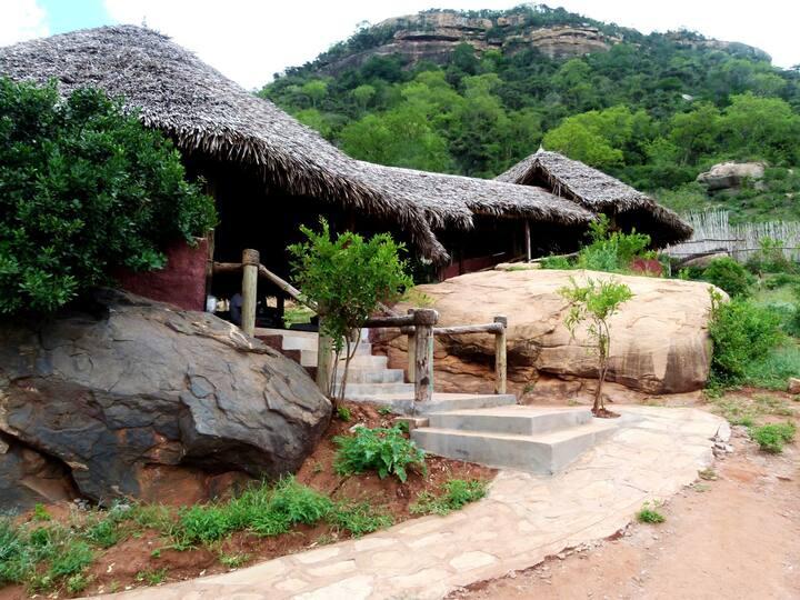 Camp Tsavo- Wilderness and views