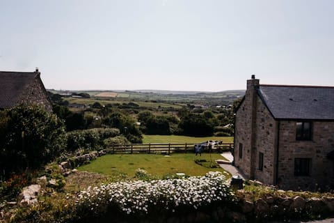 Traditional cottage in Halsetown near St Ives
