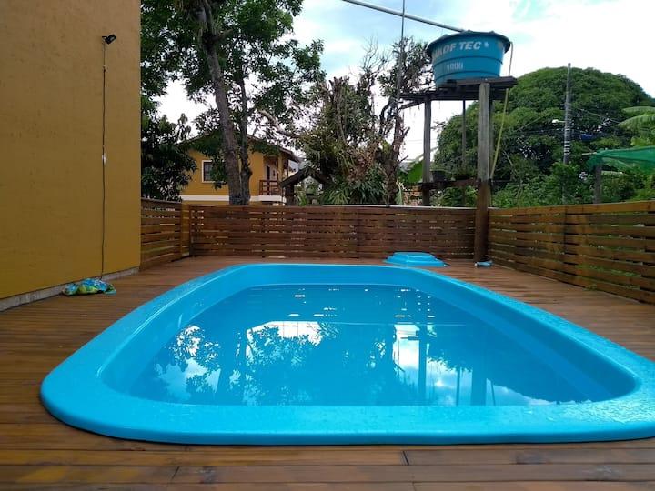 Casa residencial temporada piso superior  Campeche