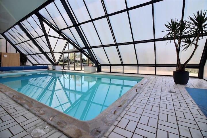 Deauville Paradise avec piscine et vue sur mer