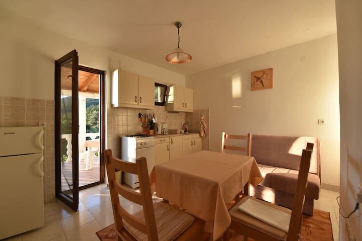 kitchen/dinning room area
