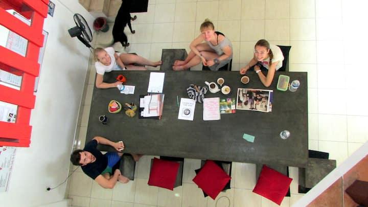 Female dorm in Kandy City Hostel