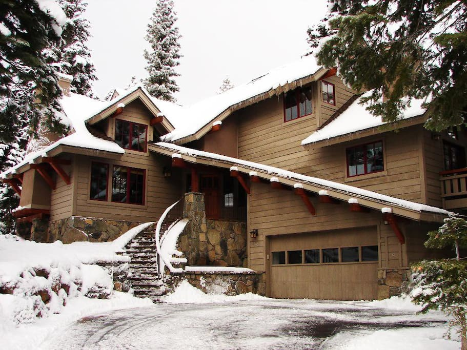 """The Eagle's Nest"" is in the prestigious Big Springs neighborhood above the Village at Northstar."