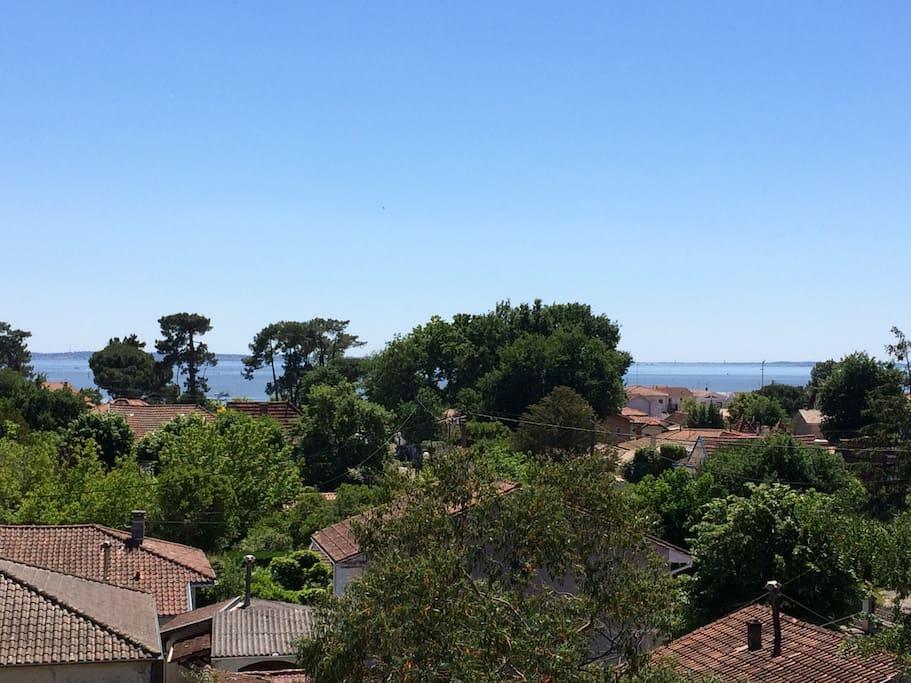 Balcon avec vue sur mer
