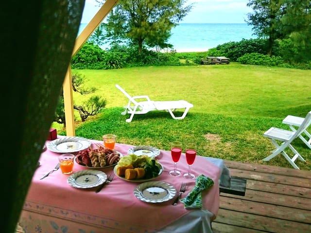 Private beach resort !! Just 5 min for Churaumi AQ - Motobu-chō - Vila