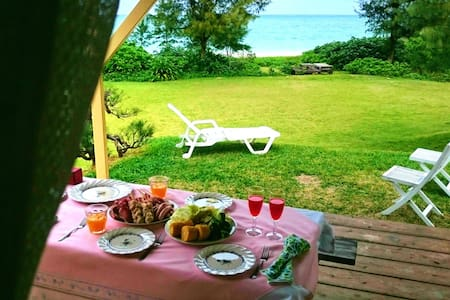 Private beach resort !! Just 5 min for Churaumi AQ - Motobu-chō - Villa