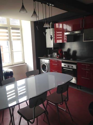 2 chambres appartement en duplex - Chaumont - 公寓