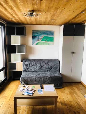 35m² Alpes Huez, RARE 2 Bathrooms + 2 WC