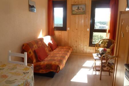 studio 20 m²  face à la chaîne des Pyrénées