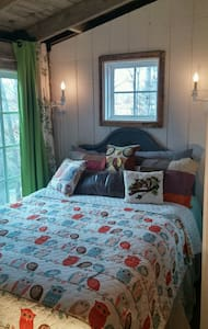 Intimate, secluded small cottage in North GA Mtn - Blairsville - Blockhütte
