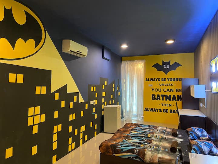 Antz Batman Premium Room [WiFi][Breakfast]