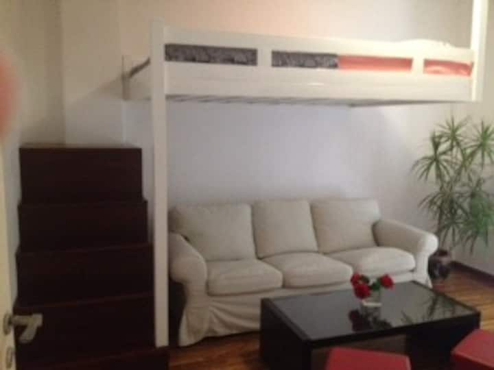 Cozy and quiet apartment whit private garden!