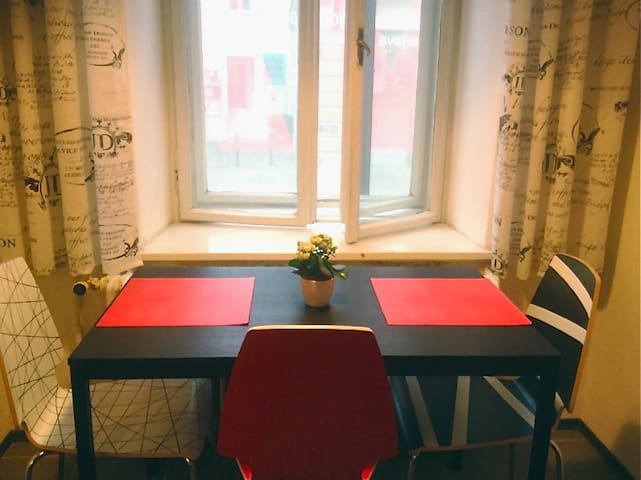 New cozy studio in the town center - Ljubljana - Apartemen