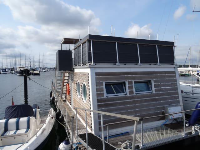 Urlaub in der ersten Reihe - Laboe - Boat