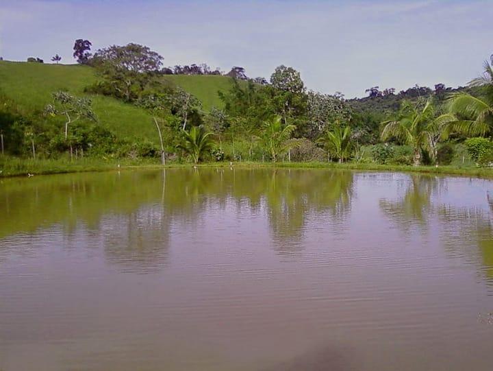 Sítio para temporada em Rio Novo - MG