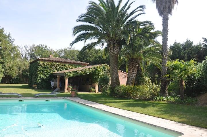 Villa St-Tropez 5 chambres Capon Canoubiers