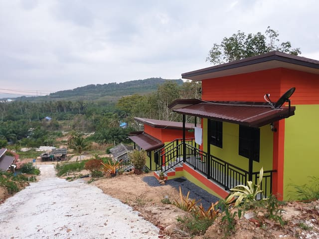 Privat bungalow in unique location with great view