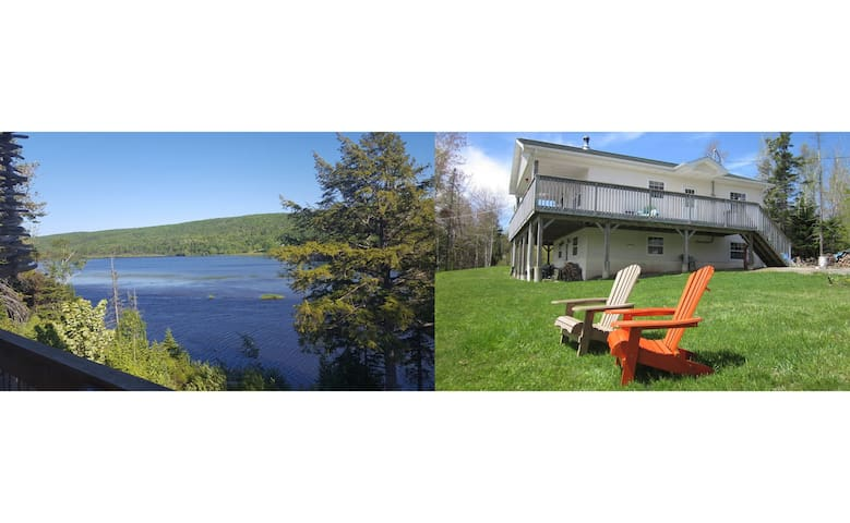 River Denys Lodge bei Orangedale am Bras d`Or Lake