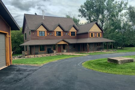 The Contented Acres: A Country Estate Near Duluth - Esko