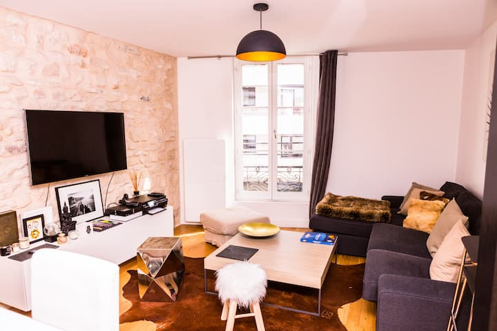 Luxurious flat in Boulogne