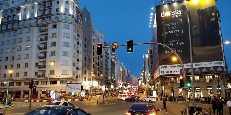 Apartamento nuevo 3 habitaciones, Centro Madrid