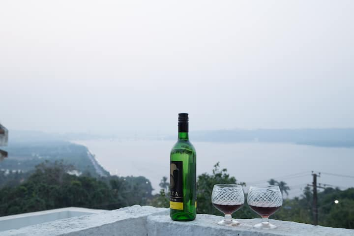 Best view of the river from your terrace 04