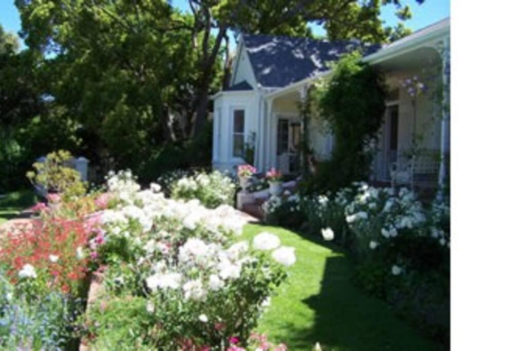 The Garden House in summer